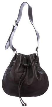 Tod's Leather Drawstring Bucket Bag