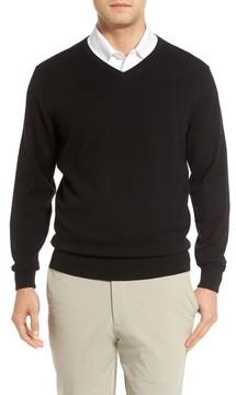 Cutter & Buck Men's Big & Tall Lakemont V-Neck Sweater