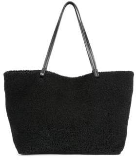The Row Park Shearling Tote