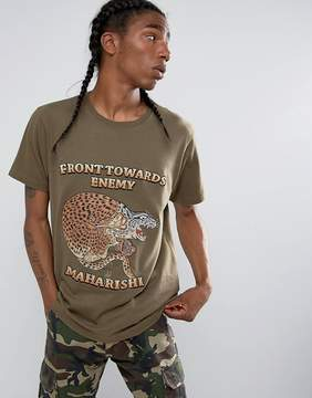 MHI Embroidered Crouching Tiger T-Shirt