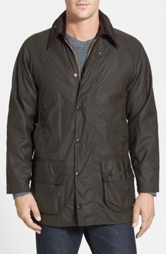 Barbour Men's 'Classic Beaufort' Relaxed Fit Waxed Cotton Jacket