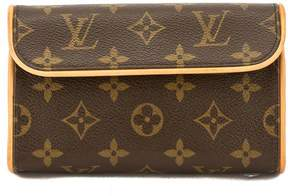 Louis Vuitton Monogram Canvas Florentine Pochette Bum Bag - BROWN - STYLE