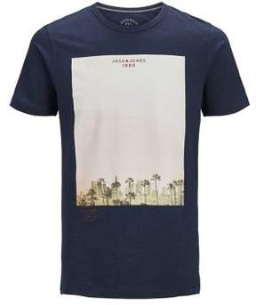 Jack and Jones Graphic Slim-Fit Tee