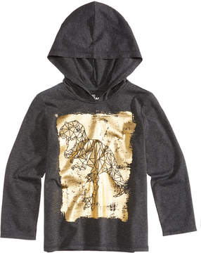 Epic Threads Dinosaur Graphic-Print Hooded Shirt, Toddler Boys (2T-5T), Created for Macy's