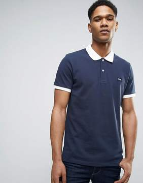 Jack and Jones Originals Polo Shirt with Contrast Collar