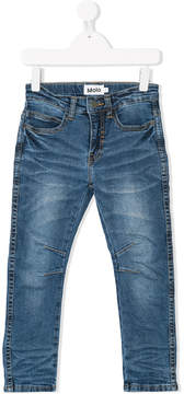 Molo crinkle-effect jeans