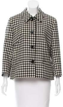 Basler Structured Houndstooth Jacket