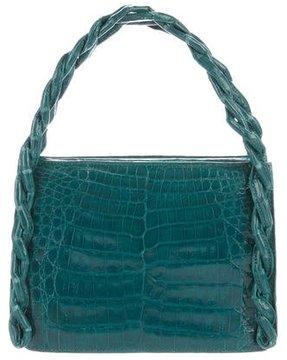 Nancy Gonzalez Crocodile Green Lady Bag