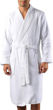 Naked Terry Cloth Robe
