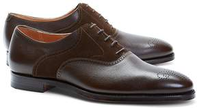 Brooks Brothers Peal & Co.® Suede and Leather Saddle Shoes