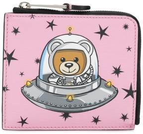 Moschino Space Teddy Bear wallet