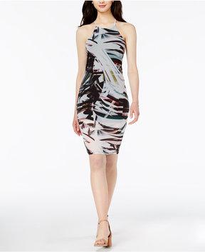 Bar III Printed Bodycon Dress, Created for Macy's