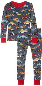 Hatley Demolition Derby PJ Set Boy's Pajama Sets