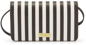 Henri Bendel West 57Th Centennial Stripe Xl Smartphone Case Crossbody