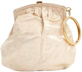 Roberto Cavalli Beige Leather Handbag