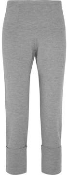 Allude Wool Leggings - Gray