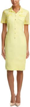 Basler Linen Shirtdress