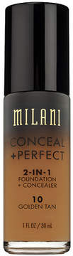 Milani Conceal + Perfect 2-In-1 Foundation + Concealer Golden Tan
