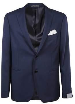 Cantarelli Men's 9092225821124 Blue Wool Blazer.
