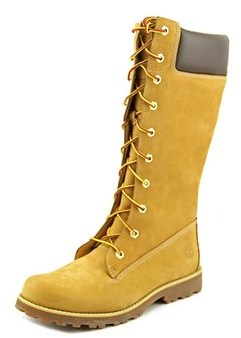 Timberland Asphalt Trail Classic Tall Round Toe Leather Mid Calf Boot.