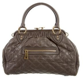 Marc Jacobs Quilted Stam Bag - BROWN - STYLE
