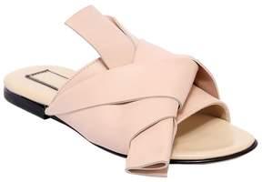 N°21 Leather Slide Sandals