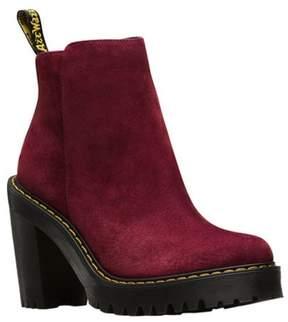 Dr. Martens Women's Magdalena Fashion Boot Wine 6 Medium UK (8 US)