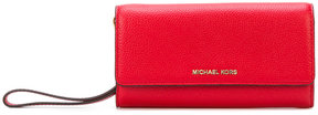 MICHAEL Michael Kors fold over purse - RED - STYLE