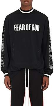 Fear Of God Men's Logo Mesh Motocross T-Shirt