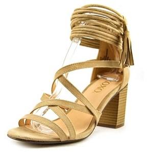 XOXO Elle Women Open Toe Synthetic Sandals.