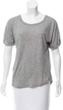 Organic by John Patrick Short Sleeve Scoop Neck T-Shirt