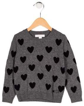 Burberry Girls' Wool Intarsia Sweater