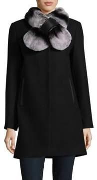 1 Madison Rex Rabbit Fur Coat