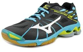 Mizuno Wave Lightning Z Round Toe Synthetic Running Shoe.