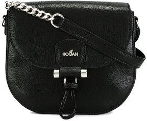 Hogan logo saddle bag