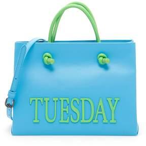 Alberta Ferretti Tuesday Leather Shopping Bag