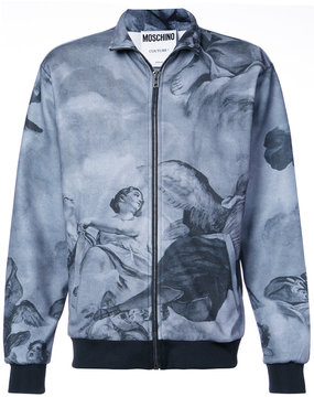 Moschino Fresco print jacket