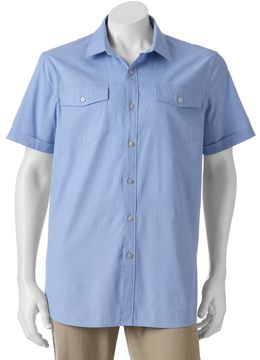 Apt. 9 Big & Tall Classic-Fit Stretch Button-Down Shirt