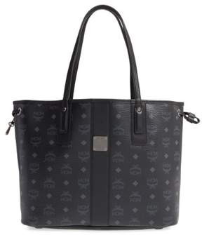 Mcm Medium Liz Reversible Shopper - Black