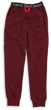 Calvin Klein Jeans Boy's Heathered Jogger Sweatpants