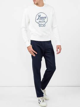Loewe Beach club sweatshirt