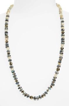 Chan Luu Women's Semiprecious Stone Adjustable Necklace