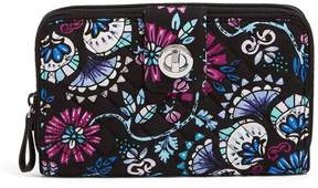 Vera Bradley Iconic RFID Turn-Lock Wallet