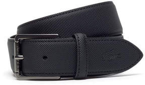 Lacoste Men's Petit Piqu Printed Belt