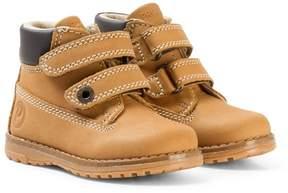 Primigi Brown Velcro Ankle Boots