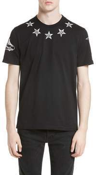 Men's Givenchy Tattoo Print Cuban Fit T-Shirt