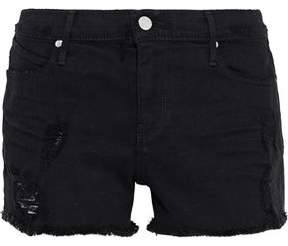 RtA Distressed Denim Shorts