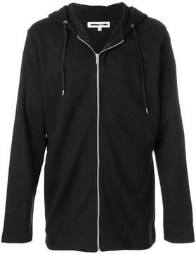 McQ zip front hoodie