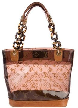 Louis Vuitton Cabas Sac Ambre PM - BROWN - STYLE