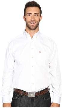 Ariat Big Tall Solid Twill Shirt Men's Clothing